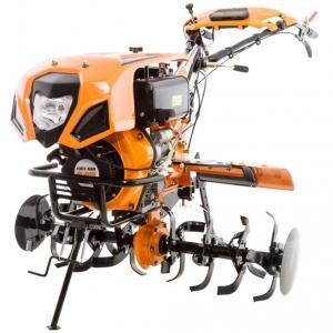 Motocultor Ruris 1001KSD - roti + plug reversibil + dispozitiv plantat si fertilizat cartofi