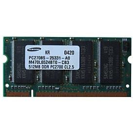 Samsung 512MB DDR SODIMM PC2700S-25331