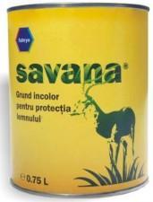 GRUND SAVANA INCOLOR PENTRU LEMN 0.75L