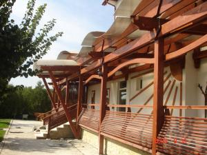 Terasa casa lemn