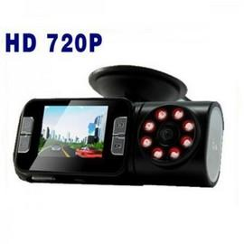Camera video portabila cu  HD, infrarosu, DVR si display 2,5 inch TFT; trafic, auto, masina, martor accident, cu senzor de miscare