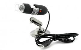 K208 Microscop Digital USB - Zoom 200x, Rezolutie 640x480, 8 Led-uri