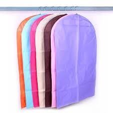 Husa pentru protectie hainelor cu fermoar Portocalie 60 x 90 cm / ALX