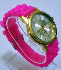 Ceas quartz fashion cu bratara din silicon MODEL 067