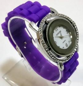 Ceas quartz fashion cu bratara din silicon MODEL 062
