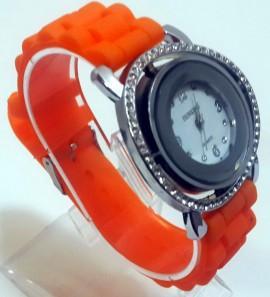 Ceas quartz fashion cu bratara din silicon MODEL 050