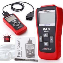 Tester portabil diagnoza auto CAN BUS OBD2 / EOBD, VW, Audi, Seat, Skoda