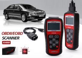 Tester universal portabil diagnoza auto CAN OBDII/EOBD