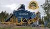 Constmach 100 m3 / h mobile plant concrete