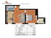 Apartament 2 camere Tip B1