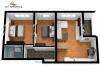 Apartament 3 camere Tip C1