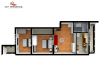 Apartament 3 camere Tip C2