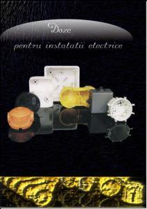 Doze pentru instalatii electrice
