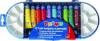 Tempera morocolor, 12 culori/cutie