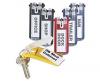Suport eticheta pt. cheie durable, 6 buc/set