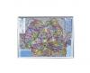 Harta romaniei administrativ-rutiera pe suport de