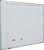 Planner dublu saptamanal, 90 x 120 cm, profil aluminiu sl, smit