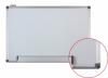Tabla alba magnetica cu rama din aluminiu, 100 x 150