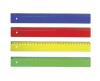 Rigla color 30 cm, ark