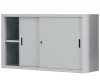 Dulap metalic usi glisante cu 1 raft, latime 180 cm