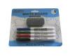 Set 4 marker whiteboard + burete