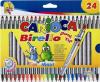 Markere carioca birello, varfuri 2 si 4 mm, 24