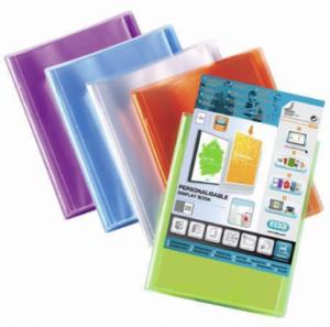 Dosar de prezentare personalizabil, cu  40 folii, A4, ELBA Polyvision - transparent