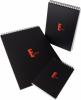 Blocnotes cu spira Elegance, 210 x 297 mm, matemaatica, 80 file