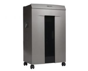 DISTRUGATOR DOCUMENTE/CD/DVD/AGRAFE  DELI 9905, EVO-DELI 9905 pt. 10 coli, cross-cut (2x12 mm)