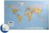 Harta lumii (politica) 100 x 136 cm, profil aluminiu