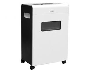 DISTRUGATOR DOCUMENTE/CD/DVD/AGRAFE DELI 9903, EVO-DELI 9903 pt. 12 coli, cross-cut (3x25 mm)