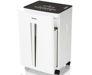 DISTRUGATOR DOCUMENTE/CD/DVD/AGRAFE DELI 9918, EVO-DELI 9918 pt. 20 coli, cross-cut (4x34 mm)