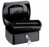 Caseta (cutie) metalica pentru bani, 255 x 200 x 90 mm, tavita