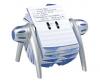 Agenda telefonica/adrese durable telindex flip, 500
