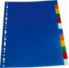 Separatoare plastic color, a4, 120 microni,