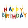 Lumanari litere happy birthday set15