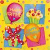 Servetele 33x33cm 3 straturi set20 happy birthday