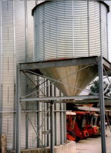 Silozuri pentru incarcare rapida a cerealelor
