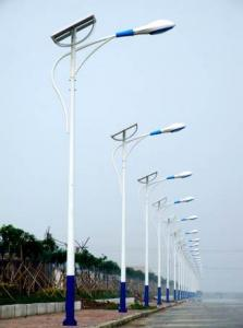 Stalp solar stradali