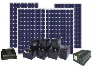 Sistem fotovoltaic off grid