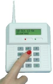 Alarme radio
