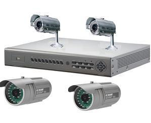 Sistem video cu 4 camere