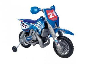 Motocicleta Cross X cu casca Feber