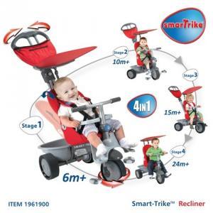 Tricicleta Smart Trike Recliner 4 in 1