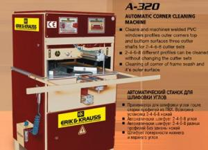Masina de lipit tamplarie pvc