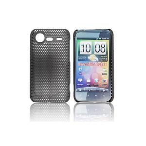 Husa perforata HTC Incredible S neagra