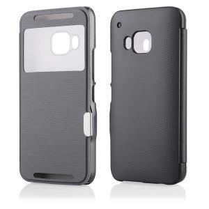 Husa HTC One M9 Carte Inchidere Magnetica neagra