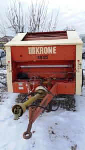 Presa de balotat rotunda Krone KR 125