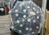 Umbrela alba din dantela