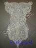 Aplicatie de rochie cu margele